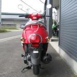 新車 ホンダ Giorno(ジョルノ) レッド リヤサイド2