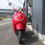 新車 ホンダ Giorno(ジョルノ) レッド フロントサイド2