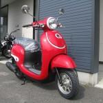 新車 ホンダ Giorno(ジョルノ) レッド フロントサイド