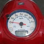 新車 ホンダ Giorno(ジョルノ) レッド スピードメーター