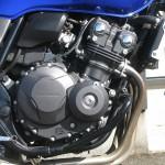 中古車 ホンダ CB400スーパーフォア VTEC REVO ブルー エンジン