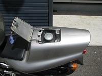 ホンダ NS-1 シルバー ガソリンタンク小 開