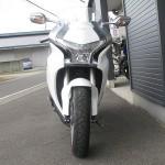 中古車 ホンダ VFR1200F ABS ホワイト フロントサイド2