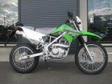 カワサキ KLX125 グリーン