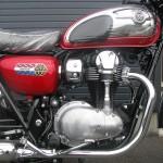 新車 カワサキ W800クロームエディション レッド/クロームメッキ エンジン
