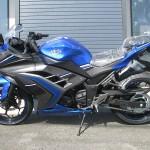 新車 カワサキ NINJA250 ABS スペシャルエディション ブルー/グレー レフトサイド