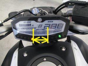 ヤマハ MT-07 ABS スピードメーター