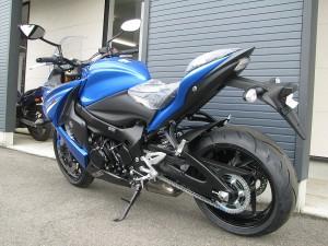 新車 スズキ GSX-S1000F ABS ブルー リヤサイド2