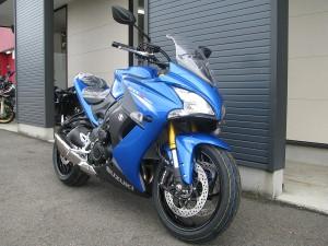 新車 スズキ GSX-S1000F ABS ブルー フロントサイド2
