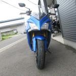 新車 スズキ GSX-S1000F ABS ブルー フロントサイド