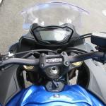 新車 スズキ GSX-S1000F ABS ブルー メーター周り