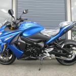 新車 スズキ GSX-S1000F ABS ブルー レフトサイド