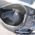 中古車 スズキ アドレスV50 ブラック シートボックス