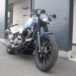 新車 ヤマハ BOLT-C ブルー フロントサイド2