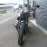 新車 ヤマハ BOLT-C ブルー フロントサイド
