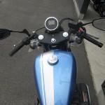 新車 ヤマハ BOLT-C ブルー タンク周り