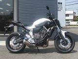 ヤマハ MT-07 ABS ホワイト
