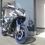 新車 ヤマハ MT-09トレーサー ABS マットシルバー/ブルー フロントサイド
