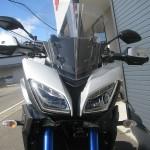 新車 ヤマハ MT-09トレーサー ABS マットシルバー/ブルー フロントサイド2