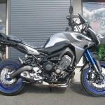新車 ヤマハ MT-09トレーサー ABS マットシルバー/ブルー ライトサイド