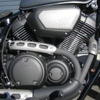 中古車 ヤマハ BOLT-R マットグレー エンジン
