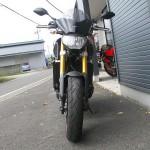 中古車 ヤマハ MT-09 ABS オレンジ フロントサイド