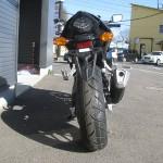 ホンダ CBR400R ブラック リヤサイド