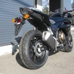 ホンダ CBR400R ブラック リヤサイド2