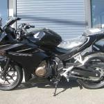 ホンダ CBR400R ブラック レフトサイド