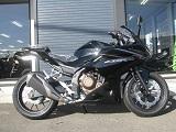 ホンダ CBR400R ブラック ライトサイド2
