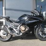 ホンダ CBR400R ブラック ライトサイド