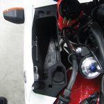 中古バイク ホンダ CB400SB レッド/ホワイト サイドケースオープン