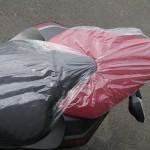 カワサキ Z1000ABS レッド/ブラック タンデムシート