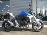 スズキ GSR750ABS ブルー/ホワイト ライドサイド