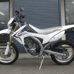 ホンダ CRF250L ホワイト レフトサイド