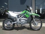 カワサキ KLX125 グリーン ライトサイド