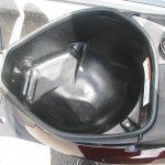 アドレスV50 ブラウン ヘルメットボックス