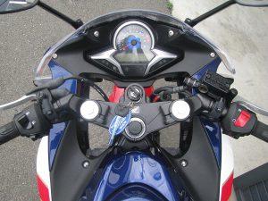 ホンダ CBR250R トリコロール メーター