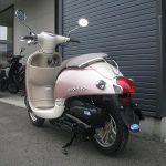 ホンダ Giorno(ジョルノ) ピンク 後ろ側