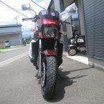 カワサキ ZRX1200DAEG レッド 前側