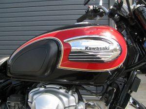 カワサキ W400 ファイナルエディション レッド/ブラック タンク