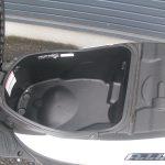 スズキ アドレス110 ホワイト シートボックス