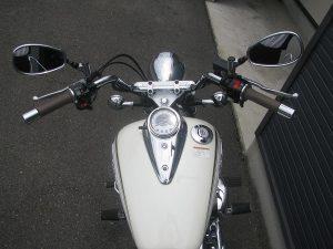 中古 ヤマハ ドラッグスター250 ホワイト タンク