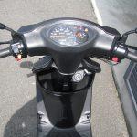 中古バイク ヤマハ JOGZR マットグレイ メーター