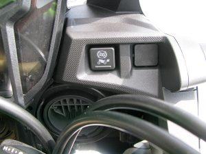 新車バイク ホンダ CRF1000L アフリカツイン トリコロール ABSボタン