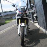新車バイク ホンダ CRF1000L アフリカツイン トリコロール 前側