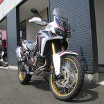 新車バイク ホンダ CRF1000L アフリカツイン トリコロール 前側2
