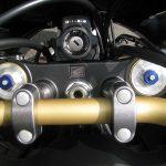 新車バイク ホンダ CRF1000L アフリカツイン トリコロール フロントサスペンションアジャスター
