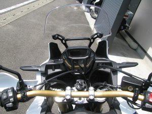 新車バイク ホンダ CRF1000L アフリカツイン トリコロール ハンドルアップ