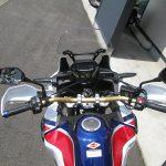 新車バイク ホンダ CRF1000L アフリカツイン トリコロール ハンドル